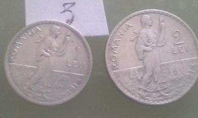 1LEU,2 LEI 1914/3 foto