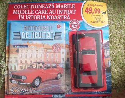Hachette  Masinuta DACIA 1300 , Scara 1:24 foto