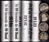 Lot 4 bucati,fisic 50 bani comemorativ 2015 denom 2016 Iancu 2017-UE 1018 Unirea