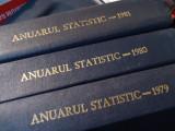 ANUARUL STATISTIC AL R.S.R.-ANII-1979-1980-1981-