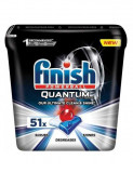 Detergent tablete vase Finish Quantum Ultimate Regular Capsule, 51 bucati