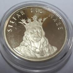 Moneda 50bani stefan cel mare