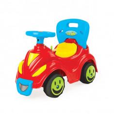 Masinuta fara pedale/rosu+bleu, 42,5x63x31cm - Dolu
