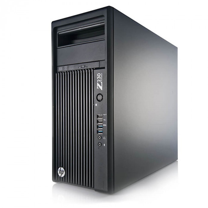 Workstation second hand HP Z230 Tower, Xeon Quad Core E3-1225 v3