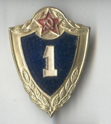 Insigna militara Rusia anii 1980 foto