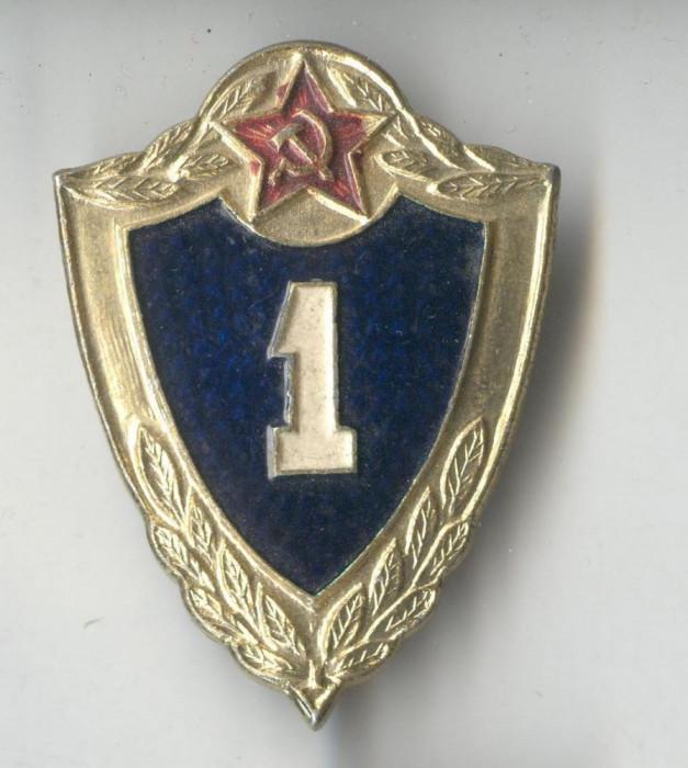 Insigna militara Rusia anii 1980