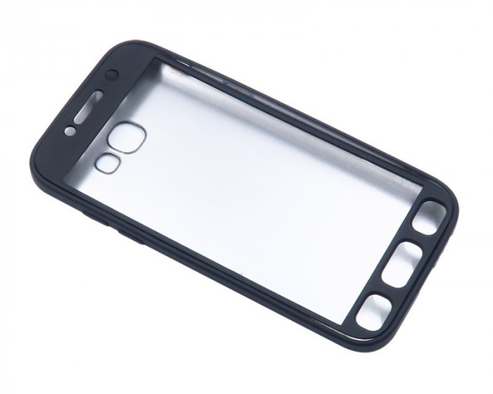 Husa Samsung Galaxy S7 Edge Flippy Full Silicone 360 Negru