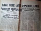 Scanteia poporului 23 decembrie 1989 anul 1,nr. 1 al ziarului -revolutia romana