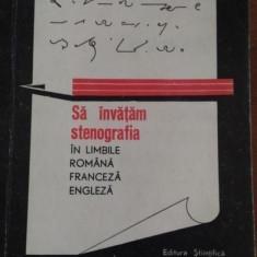 Sa invatam stenografia in limbile romana, engleza, franceza Pierre Dephanis