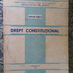 DREPT CONSTITUTIONAL , NISTOR PRISCA