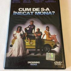 Cum de s-a inecat Mona? (1 DVD Film, SUBTITRARE in ROMANA - Stare foarte buna!)