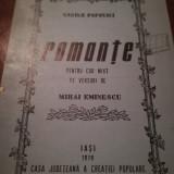 Romante pe versuri de m. Eminescu