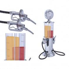 Dispenser Dozator Dublu Gradat, Capacitate 2x450ml, Ideal pentru Bauturi Alcoolice, Sucuri, Bere, Vin