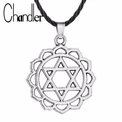 Pandantiv Steaua lui David tema religioasa simbol evreu foto