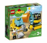 LEGO DUPLO - Camion si excavator pe senile 10931