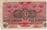 Bancnote Austro-Ungaria   1 Koroana 1916