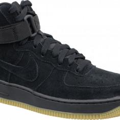 Pantofi sport Nike Air Force 1 High LV8 Gs 807617-002 pentru Copii, 36.5, 37.5, 38, 38.5, 39, Negru