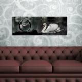Cumpara ieftin Tablou decorativ cu ceas Clockity, 248CTY1619, Multicolor