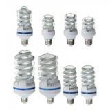 Bec LED SMD Spiralat 9W Alb Rece 6400K Soclu E27 UB60190