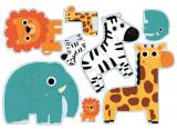 Puzzle progresiv Djeco, In jungla