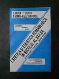 C. NOICA, E. CIORAN - ESTETICA SI ESEISTICA ROMANEASCA IN SECOLUL al xx-lea
