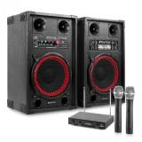 "Electronic-Star Sistem Karaoke ""STAR-Neukölln""set de boxe activ/pasiv, set de microfon"