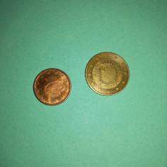 Monede euro : Malta 2008 si Irlanda 2002