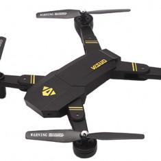 Drona iUni N809W, Brate Pliabile, WiFi, Camera 2MP, Transmisie Live pe Telefon, Altitudine automata, Negru