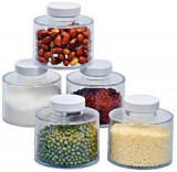 Set condimente Spice Tower, 6 recipiente, transparent