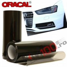 Folie protectie faruri / stopuri ORACAL (50 x 50 cm) - fumuriu deschis