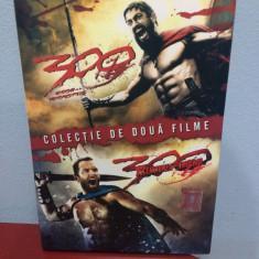 BoxSet DVD 2 filme :  300 Eroii de la Termopile + 300 Ascensiunea unui imperiu