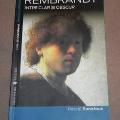 REMBRANDT INTRE CLAR SI OBSCUR de PASCAL BONAFOUX