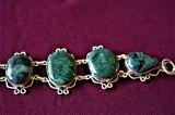 Bratara marcata Argint 925 cu pietre veritabile Rubin cu FUCHSITE  lung=19-20cm