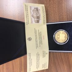 Moneda AUR 1000 Lei emisa de Banca Nationala a Romaniei