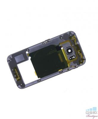 Mijloc Samsung Galaxy S6 edge SM G925 Gold foto