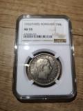 Romania - 100 lei 1932 Paris, gradata AU 55 de NGC, piesa rara, de colectie!