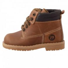 Pantofi copii, din piele naturala, Melania, 1503B01-2, maro