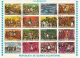 GUINEEA ECUATORIALA - 1974 -PERONALITATI , NAPOLEON , AVIATORI CELEBRI  2 COLITE
