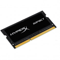 Memorie Notebook SODIMM 4GB DDR3L 1600MHz, HyperX Impact Black Series