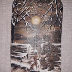 Tablou ceramica pictat manual