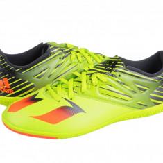 Ghete fotbal sala Adidas Messi 15.3 IN green-red-black S74691