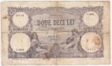ROMANIA 20 LEI 1919 U