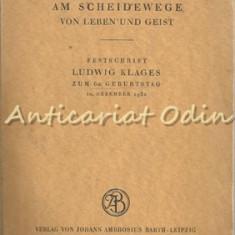 Die Wissenschaft Am Scheidewege Von Leben Und Geist - Hans Prinzhorn
