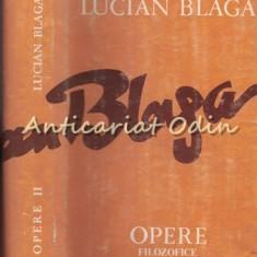 Opere Filozofice XI - Lucian Blaga