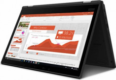 Ultrabook 2in1 Lenovo ThinkPad L390 Yoga Intel Core Whiskey Lake 8th Gen i7-8565U 512GB SSD 8GB Windows10 Pro foto