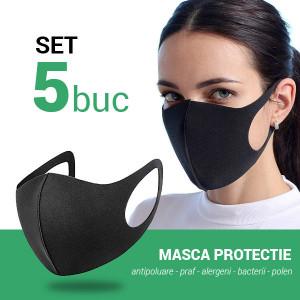 5 bucati Masca protectie fata antipraf, alergat, bicicleta si alte sporturi