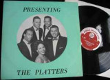 Vinil    The Platters ‎– Presenting The Platters   ( VG+)
