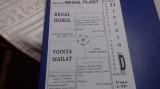 Program         Regal  Horia   -  Vointa  mailat
