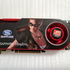 Placa video Sapphire ATI Radeon HD4870 512MB GDDR5 256-bit - poze reale