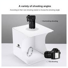 puluz Lightbox portabil-cub foto cu led incorporat pentru poza de produs studio